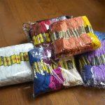 ミサンガ製作用の刺繍糸