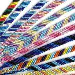ミサンガ・シルク・斜め模様:新着商品